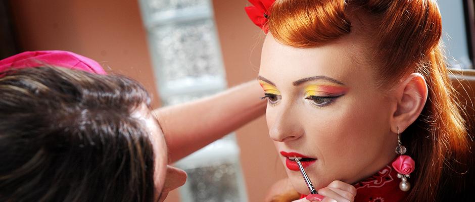 Artystyczny Makijaż dzienny, wieczorowy i ślubny we Wrocławiu w salonie kosmetycznym Le Mirage. makijaż ślubny galeria,
