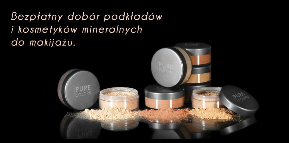 Bezpłatny dobór podkładów i kosmetyków do makijażu
