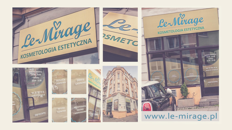 Kosmetologia estetyczna Wrocław - Le MIrage. Gabinet urody salon kosmetyczny - Nowy wygląd - Piękny kaseton i szyby w Le Mirage Wrocław.