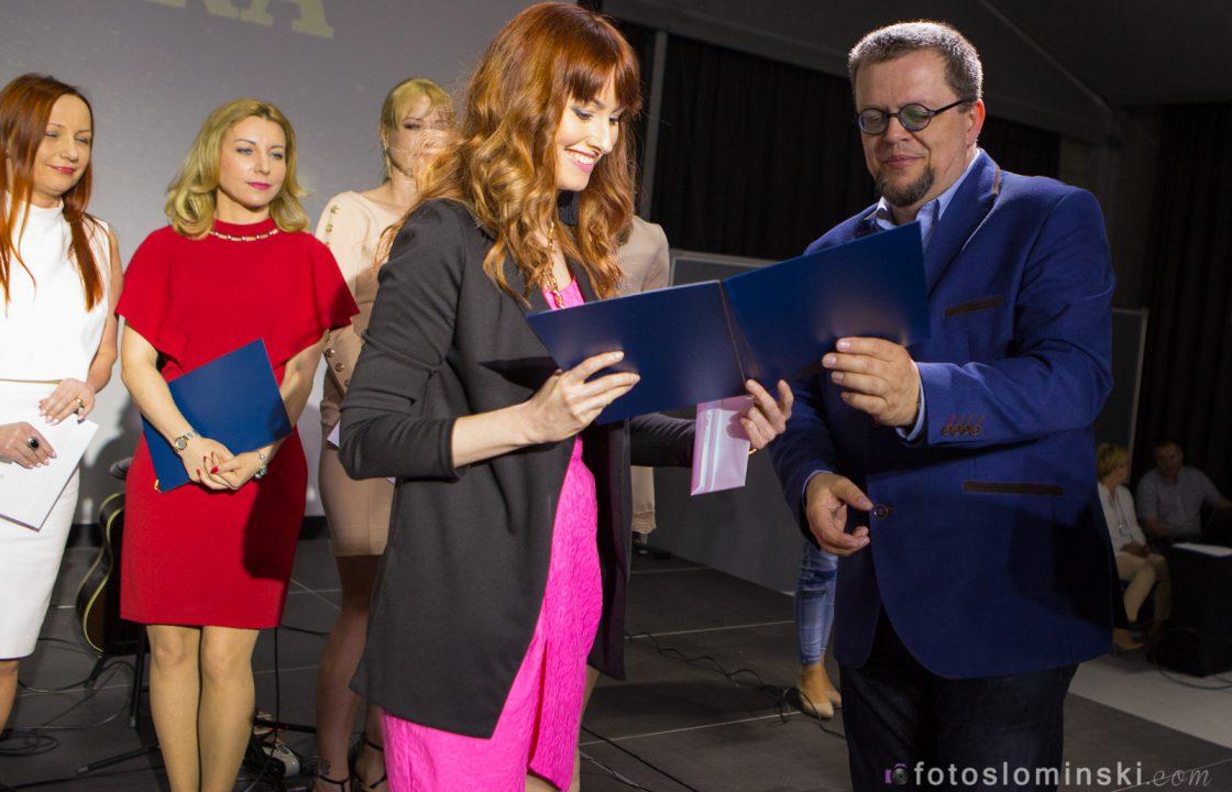 Mistrzowie Urody 2018 Wrocław - Gala rozdania nagród - Najlepsza kosmetyczka Wrocław Katarzyna Słomińska.