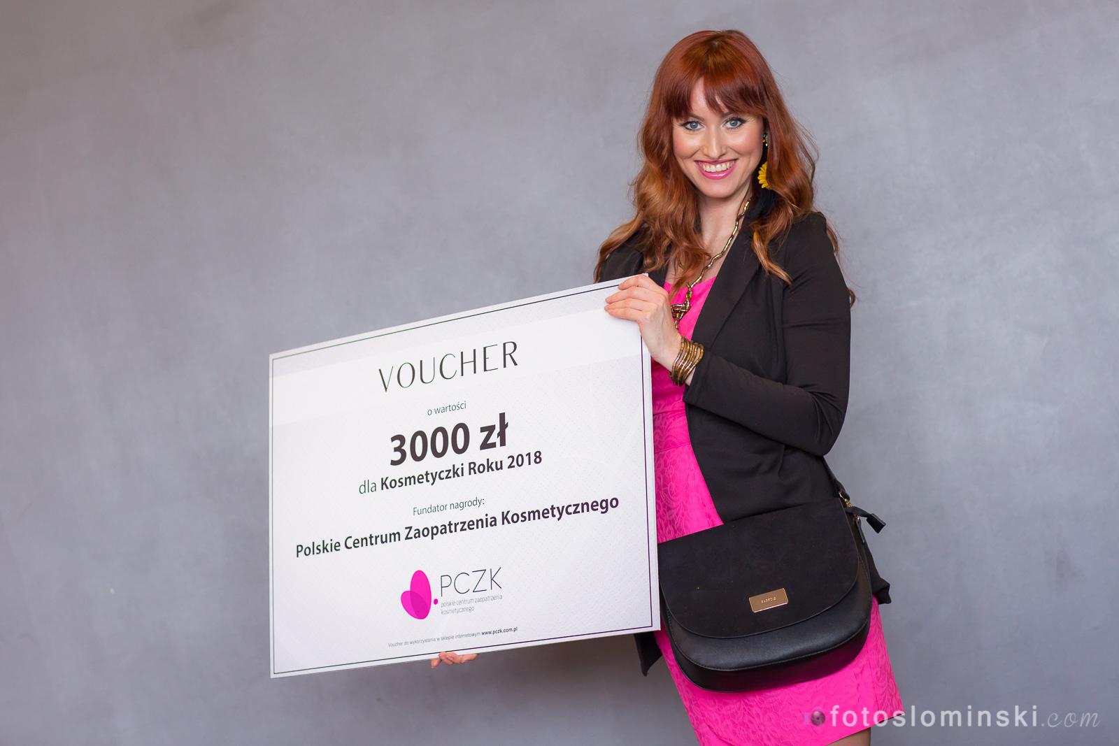 Mistrzowie Urody 2018 Wrocław – Gala rozdania nagród – Najlepsza kosmetyczka Wrocław Katarzyna Słomińska.